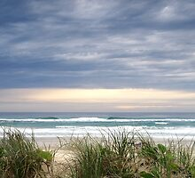 Dawn on the Beach - Anzac Day by Kathie Nichols