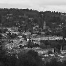 Bath from Prior park by James Taylor