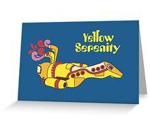 Yellow Serenity Greeting Card