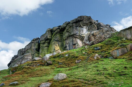 Almscliff Crag #3. by Colin Metcalf