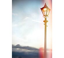 Lomo Lamp post Photographic Print