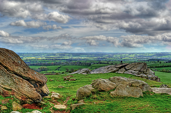 View from Almscliff Crag #4 by Colin Metcalf
