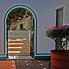 Doorway in Mexico by Melodee Scofield