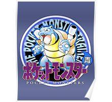 Pokemon Origins: Blue Poster