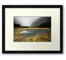 Fiordland Torrent Framed Print