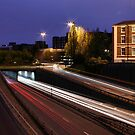 Central Motorway 1 of 2 by Harry Purves