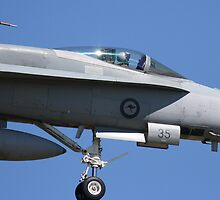 RAAF F/A 18 Hornet by Matthew Smith