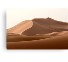 Marzouga's dunes Canvas Print