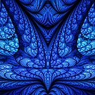Blue Meditation by Beatriz  Cruz