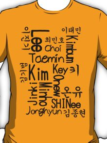 All Shinee T-Shirt