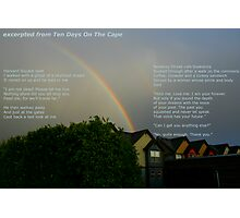 excerpted from Ten Days On The Cape Photographic Print