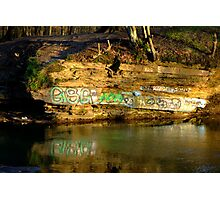 Graffiti art? Photographic Print