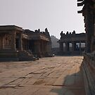 In the Courtyard of Vittala Temple by SerenaB