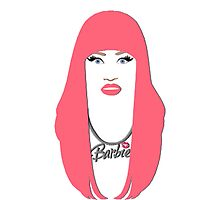 Nicki Minaj - Barbie graphic by Nathaniel Kramer