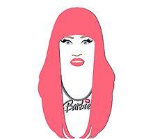 Nicki Minaj - Barbie graphic by Nathaniel Kramer