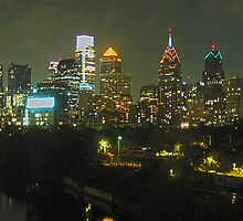 Philadelphia Skyline Panorama - Photo by John Brady