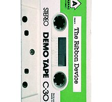 The Ribbon Device Demo Cassette (white) by Mat Creedon
