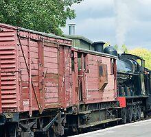 Steam train NYMR by Kit347