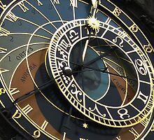 Astronomical Clock - Prague by John Brady