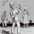 Zombies are ( still ) everywhere ! by mattycarpets