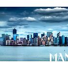 Manhattan Print by Thomas Gehrke