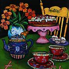 Tea & Cake by franart