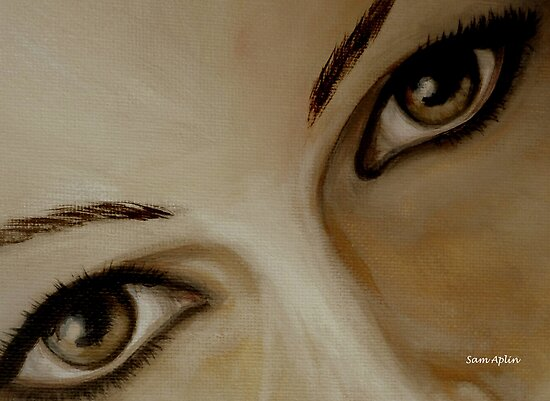 Look into my eyes by Samantha Aplin