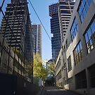 Guilford Lane - Melbourne CBD by Colin  Ewington