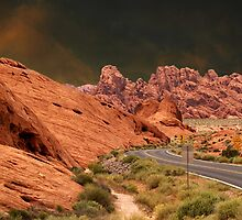 ☀DRIVING THROUGH THE VALLEY OF FIRE STATE PARK NEAR LAS VEGAS NEVADA ☀ by ✿✿ Bonita ✿✿ ђєℓℓσ