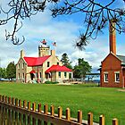 The Old Mackinac Point Lighthouse by Jack Ryan