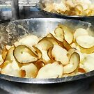 Fresh Potato Chips by Susan Savad