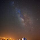 Milky Way above the Dead Sea, Israel by Zohar Lindenbaum