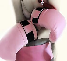 BOXER GIRL IN THE PINK  by scarlet james