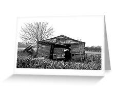 The Abandoned Barn Greeting Card