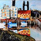 St Andrews Harbour by Karen M Purves www.artbykarenmpurves.moonfruit.com