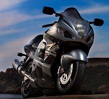 hayabusa motorcyle by Benjamin Sant
