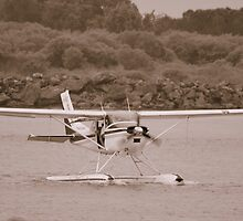 Seaplane at Port Macquarrie by Stan Owen