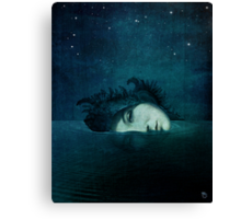 How sweet the moonlight Canvas Print