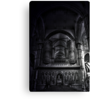 Rochester Cathedral Interior (3) HDR Canvas Print