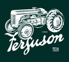 Classic Ferguson TE20 script and illustration by Robin Lund