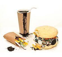 Junk Food Photographic Print