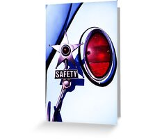 VW Safety Star Greeting Card