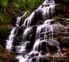 Sylvia Falls II - Blue Mountains NSW Australia by Brad Woodman