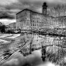 Salts Mill Panorama by Colin J Williams Photography