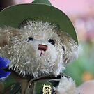 Teddy in Uniform on ANZAC Day by aussiebushstick
