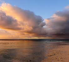 Sunset Storm Clouds II by Karen Willshaw