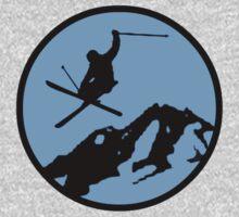 skiing 3 by Paul Simms