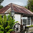 old cottage by Anne Scantlebury