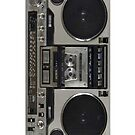 80's Boombox iPhone 4/4s case by Jnhamilt