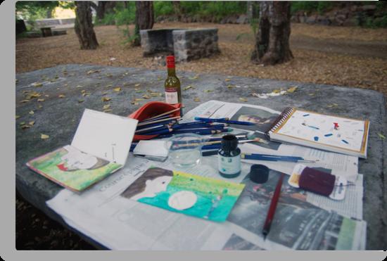 Atelier en plein air by Ina Mar